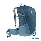 【德國 deuter】FUTURA 透氣網架 背包 27L『深藍/水藍』3400321 登山.露營.休閒.旅遊.戶外.後背包