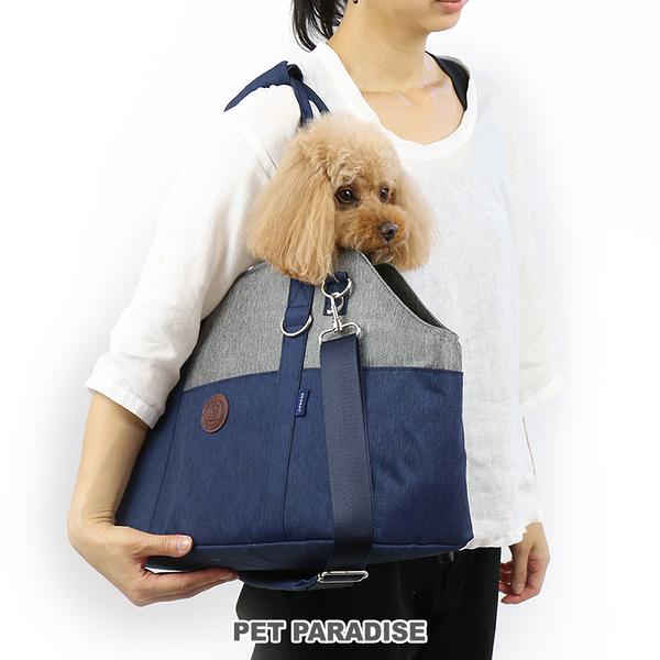 【PET PARADISE 寵物精品】J.PRESS 深藍單肩背包 (4-8kg) 寵物外出包
