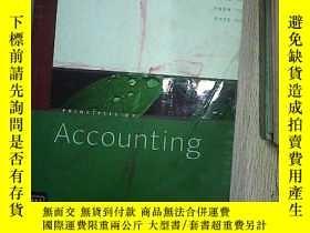 二手書博民逛書店PRINCIPLES罕見OF ACCOUNTING 會計原理Y2