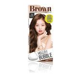 HELLO BUBBLE泡沫染髮劑 巧克力棕-6N【康是美】