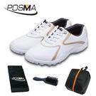 高爾夫球鞋 休閒款 男款固定釘 防水透氣 球童男鞋 GSH016GOL