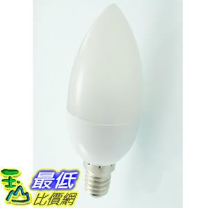 [玉山最低比價網] E14 LED 白光 蠟燭燈 燈泡 水晶吊燈尖泡 (M20)