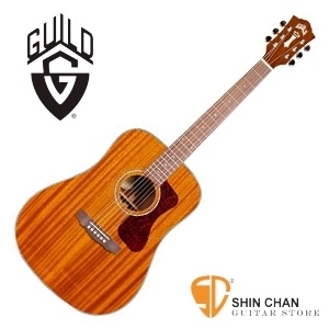 美國經典品牌 Guild D-120 全單板吉他(標準D桶身)附Guild原廠吉他袋/軟Case 總代理公司貨