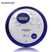 CD機 美國Audiophase 便攜式VCD機 CD隨身聽 支持英語光盤超薄cd播放機 母親節禮物