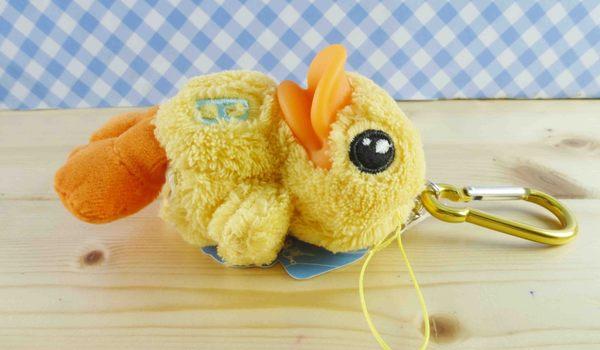 【震撼精品百貨】B.Duck_黃色小鴨~絨毛鑰匙圈-立體造型