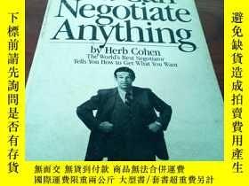 二手書博民逛書店you罕見can negotiate anythingY3147