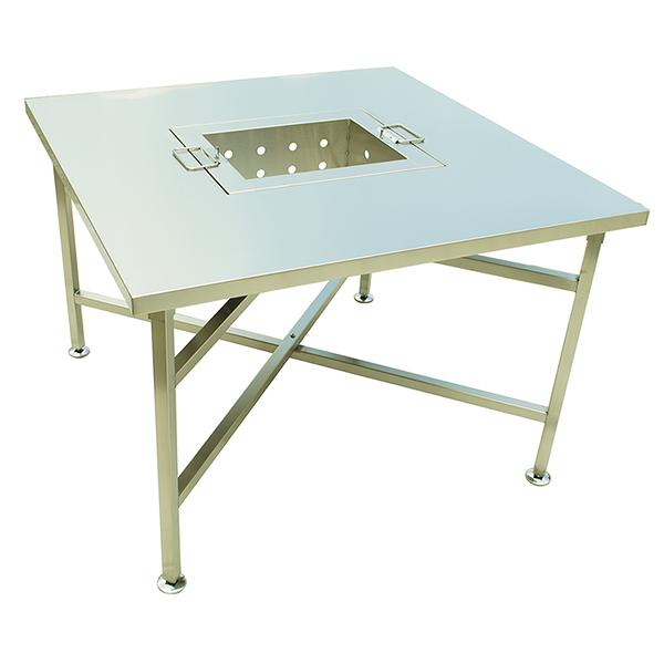 CK-TW-28S  不銹鋼烤肉桌-整組不鏽鋼#304(防鏽)