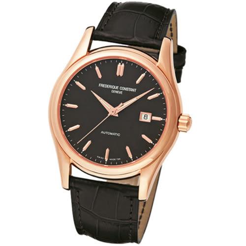 CONSTANT 康斯登/高貴典雅機械腕錶/玫瑰金/FC-303G6B4