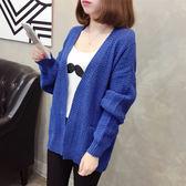 【GZ82】針織外套女 秋冬季新款韓版寬鬆慵懶風麻花原宿毛衣開衫