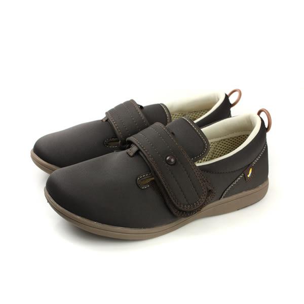 Moonstar PASTEL 408 介護鞋 戶外休閒鞋 咖啡色 男鞋 no082