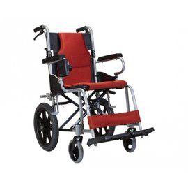 輪椅B款 鋁合金 康揚 KM-2500 附贈可調整收合杯架 贈品六選一