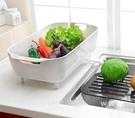 廚房收納置物架 水果蔬菜瀝水架 可放碗碟