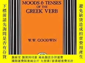 二手書博民逛書店Syntax罕見Of The Moods And Tenses Of The Greek VerbsY2555