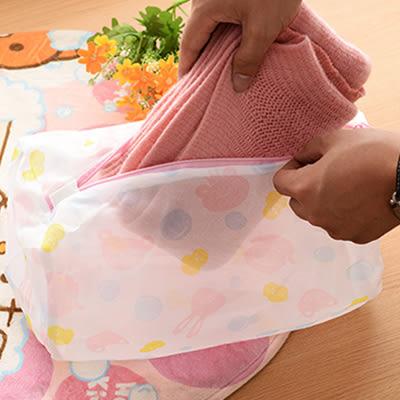 【滿300折30】WaBao 創意細網彩色衣物護洗袋 洗衣袋 (內衣洗衣袋) =D09447-4=