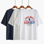 短袖T恤 印花短袖t恤女中長款春夏2021年新款設計感小眾寬鬆韓版白色上衣 伊蘿