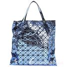 三宅一生BAO BAO ISSEY MIYAKE PLATINUM-2 藍色鏡面包(10x10) 1510454-23