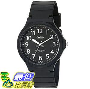 [美國直購] 手錶 Casio Mens Easy To Read Quartz Black Casual Watch (Model: MW240-1BV) T01