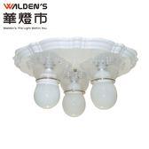 燈飾燈具【華燈市】白色雪芙三燈吸頂燈 058149 客廳燈餐廳燈房間燈