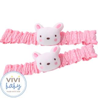 ViVibaby 艾瑪兔髮帶(粉)