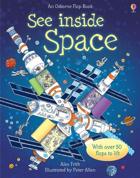 【科學操作書】USBORNE:SEE INSIDE SPACE / 硬頁精裝