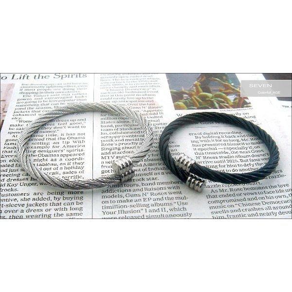 彈性極佳西德鈦鋼微調設計手環~抗過敏防氧化材質【NA56】單條