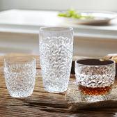 皇家國藝耐熱冰花紋水杯啤酒杯洋酒杯子家用透明玻璃杯套組 跨年鉅惠85折