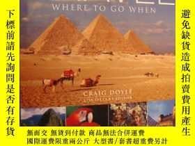 二手書博民逛書店TRAVEL罕見:Where to go when (DK EY