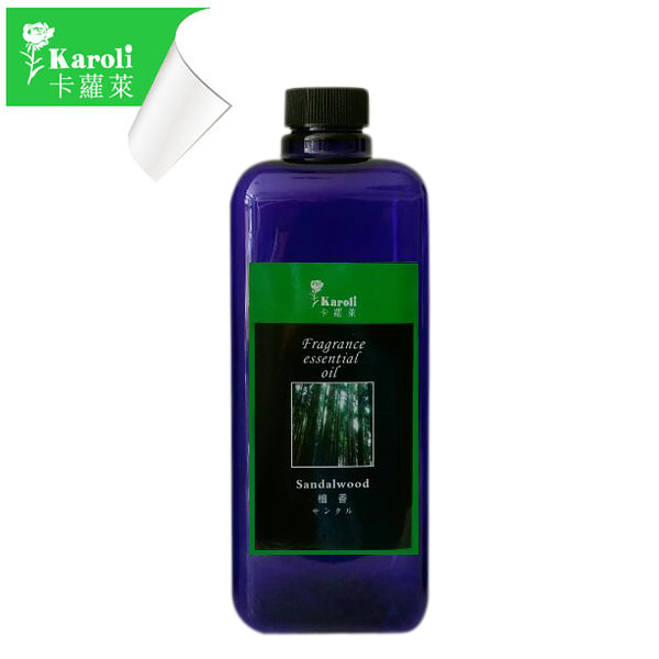 【karoli卡蘿萊】超高濃度水竹檀香精油補充液 1000ml 大容量 擴香竹專用精油(森林系列)