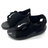 《7+1童鞋》NIKE SUNRAY ADJUST 5 V2 速乾 潮流個性 輕量 運動 涼鞋 G883 黑色