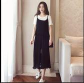 特賣款不退換中大尺碼M-4XL韓版休閒三件套夏裝新款胖妹妹裝時尚顯瘦雪紡3件套3F104-6056