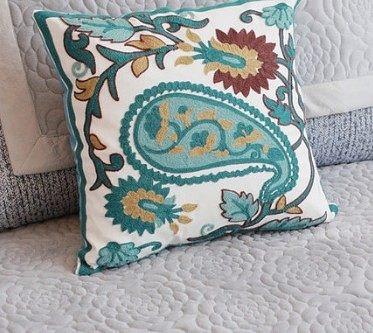 刺繡沙發靠枕-SA958