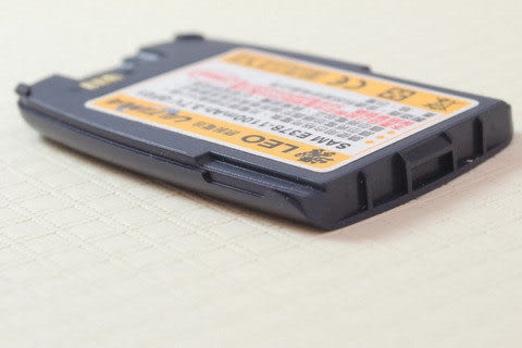 CALLS/其他廠牌 防爆高容量 手機電池 1100mah Samsung E378  藍