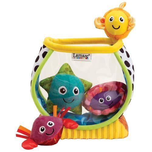 【奇買親子購物網】Lamaze 拉梅茲 嬰幼兒玩具-我的第一個小魚缸