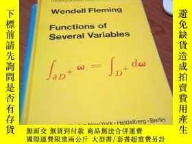 二手書博民逛書店Functions罕見Of Several Variables