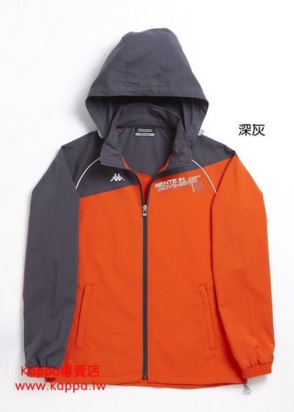Kappa 女生單層風衣外套FC52-C821-2