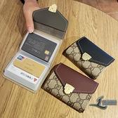 卡包錢包卡夾女式男式證件位超薄迷你可愛簡約個性卡【邻家小鎮】