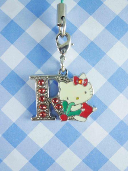 【震撼精品百貨】Hello Kitty 凱蒂貓~KITTY手機吊飾-KITTY英文字母造型-R