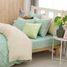 鴻宇 雙人床包組 100%精梳純棉 小綠莓 台灣製C20110