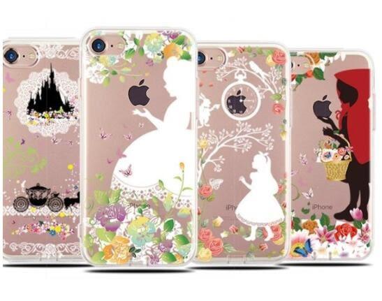 蘋果 手機殼 iPhone7 8 iPhone6 plus i6s i7 I8 iphone x 公主 保護套 TPU 手機套 保護套 保護殼