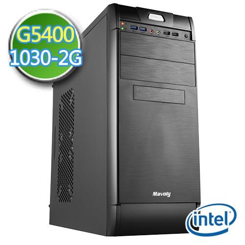 技嘉B360平台【數秘幻魔】G系列雙核 GT1030-2G獨顯 1TB效能電腦