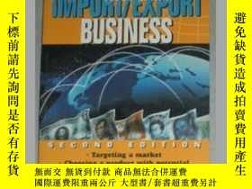二手書博民逛書店原版英文書罕見《 Building an Import Expo