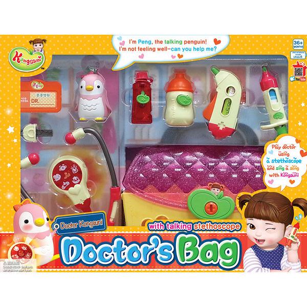 《 KONGSUNI 小豆子 》醫生診療遊戲組 / JOYBUS玩具百貨