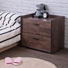 床頭櫃 收納【收納屋】德爾二抽斗櫃&DIY組合傢俱