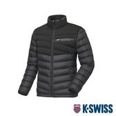 K-SWISS HS Down Jacket韓版羽絨外套-男-黑