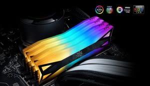加購 威剛 XPG 8GB DDR4 3200 RGB 炫光記憶體 SPECTRIX D60G *2