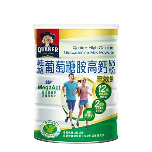 桂格葡萄糖胺奶粉750g【愛買】
