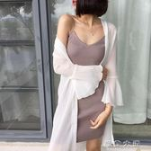 防曬衣女中長款2017夏季新款韓版雪紡開衫寬鬆外套薄大碼披肩上衣『新佰數位屋』