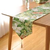 時尚可愛空間餐桌布 茶几布 隔熱墊 鍋墊 杯墊 餐桌巾桌旗131 (30*180cm)