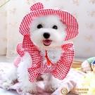 狗狗帽子泰迪比熊博美春夏季新款公主小型犬遮陽帽飾品寵物用品裝【小獅子】