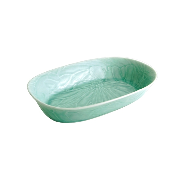 安達窯 青瓷 長盤-10吋 共2款
